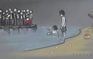 إنسانية الغرب تجاه اللاجئين